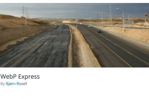 WebP Express: Convertir ses images en WebP sur WordPress
